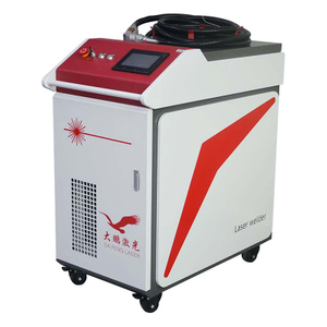 Handheld fiber laser welding machine for seamless welding stainless steel door and window welding process